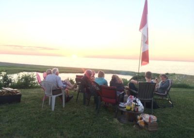 Oceanfront Seasonal Trailer RV Park Campground Nova Scotia